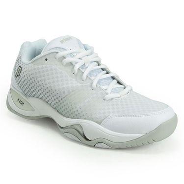 Prince T22 Lite Womens Tennis Shoe - White/Grey