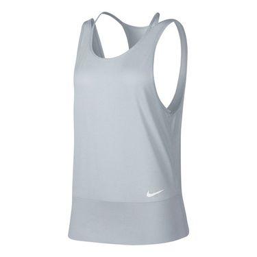 Nike Dry Training Racerback Tank - Pure Platinum