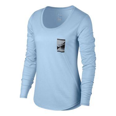 Nike Dry Tennis Tee - Hydrogen Blue