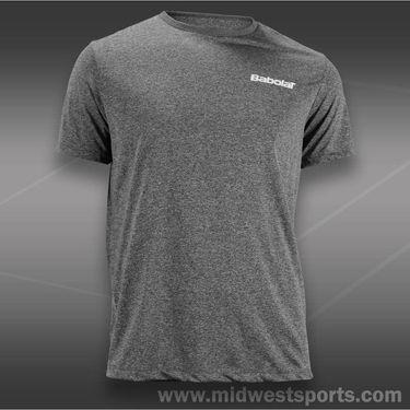 Babolat Tennis Logo Poly Short Sleeve Shirt