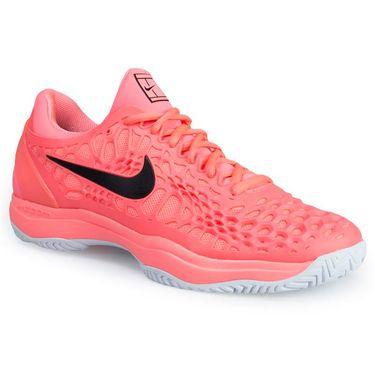 Nike Zoom Cage 3 Mens Tennis Shoe - Lava Glow/Black/Hot Punch