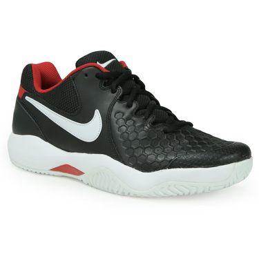 Nike Air Zoom Resistance Mens Tennis Shoe - Black/White/University Red