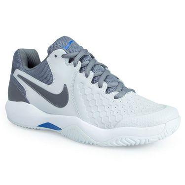 Nike Air Zoom Resistance Mens Tennis Shoe - Grey/Gunsmoke/Blue