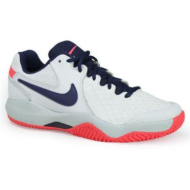 Nike Air Zoom Resistance Womens Tennis Shoe - White/Binary Blue/Pure Platinum