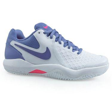 Nike Air Zoom Resistance Womens Tennis Shoe - White/Purple Slate/Racer Pink