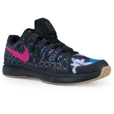 Nike Air Zoom Vapor 9.5 Tour Mens Tennis Shoe - Black/Pearl Pink/Clear Jade