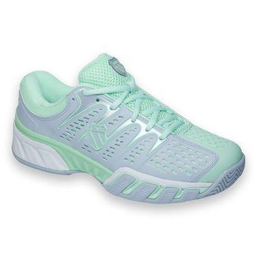 K-Swiss Big Shot II Womens Tennis Shoe-Storm/Patina Green, 93025313