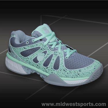 K-Swiss Ultra Express Womens Tennis Shoe-Charcoal Fade/Patina Green, 93168031