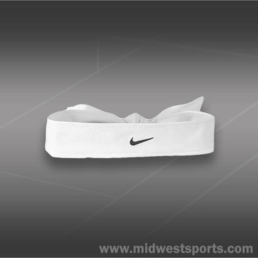 Nike Dri Fit Head Tie 2.0-White