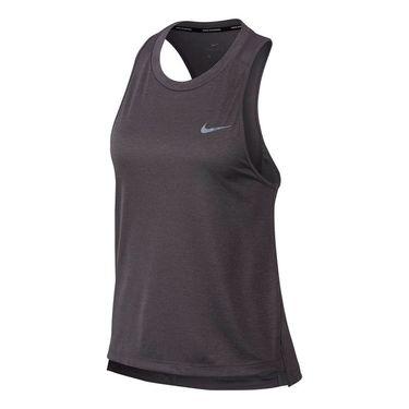 Nike Miler Running Tank - Gunsmoke/Heather