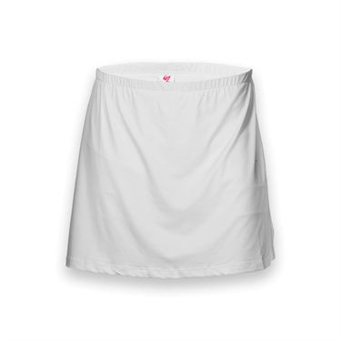 In Between Plus Size All Sport Skirt- White