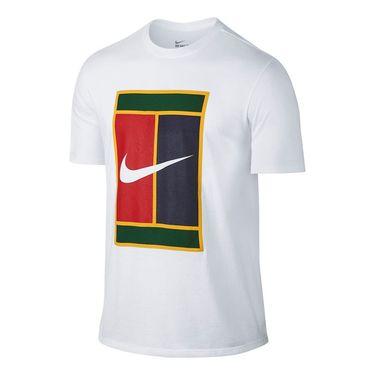 Nike Court Heritage Logo Tee - White