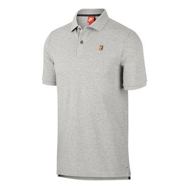 Nike Court Heritage Polo - Dark Grey Heather