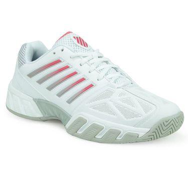 K-Swiss Bigshot Light 3 Women Tennis Shoe - White/Calypso Coral