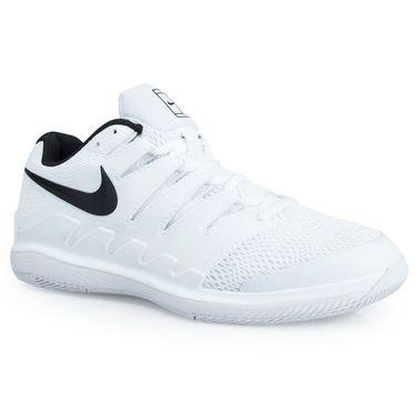 Nike Air Zoom Vapor X Wide Mens Tennis Shoe - White/Black/Grey