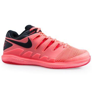 Nike Air Zoom Vapor X Mens Tennis Shoe - Lava Glow/Black/Red