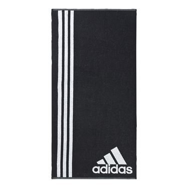 adidas Striped Towel - Black/White