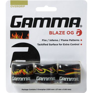 Gamma Blaze 3 Pack Overgrip