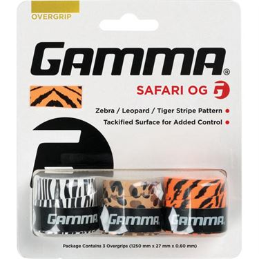 Gamma Neon Safari 3 Pack Overgrip
