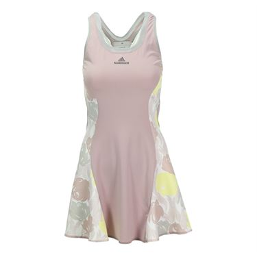 adidas Stella McCartney Roland Garros Dress - Glacial/Fresh Yellow/Lilac