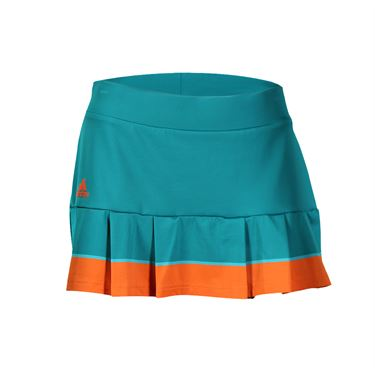 adidas all Premium Skirt LONG - EQT Green/Shock Green/Super Orange