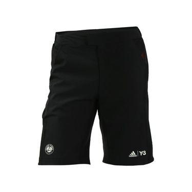 adidas Roland Garros Y3 Player Short - Black/Red
