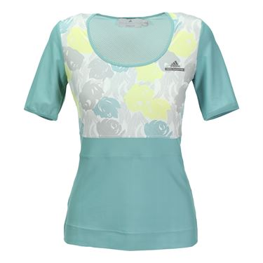 adidas Stella McCartney Roland Garros Top - Pinboard Blue