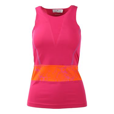 adidas Stella McCartney Run Clima Tank - Glow Pink