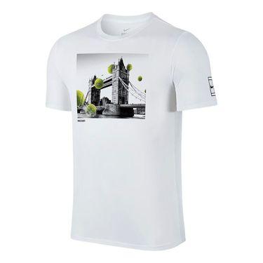 Nike Wimbledon Court Tee - White