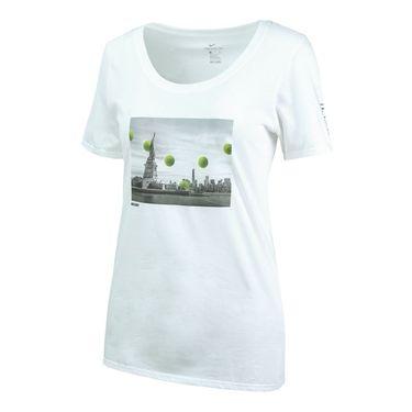 Nike Court New York City Tee - White
