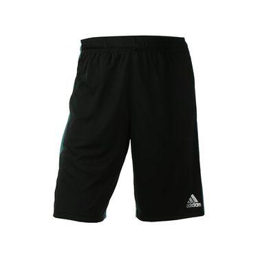 adidas ClimaCore 10 Inch Short - Black/EQT Green