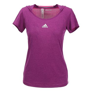 adidas Climachill Top - Shock Pink