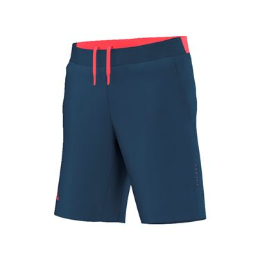 adidas Pro Bermuda Short - Steel/Flare Red
