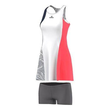 adidas Stella McCartney NY Barricade Dress - Navy/White/Flash Red