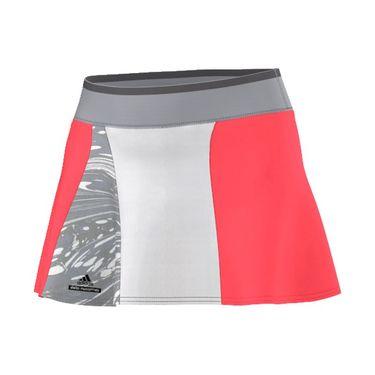 adidas Stella McCartney NY Barricade Skirt - Flash Red/Grey/White
