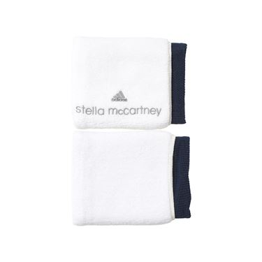 adidas Wristband - White/Collegiate Navy