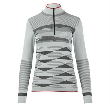 adidas Stella McCartney Seamless ClimaWarm 1/4 Zip - White/Black