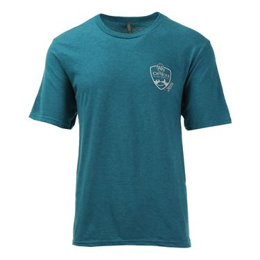 W&S 2016  Soft Crest T-shirt - Heather Teal