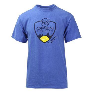 W&S 2016  2 Color Crest T-Shirt - Heather Royal