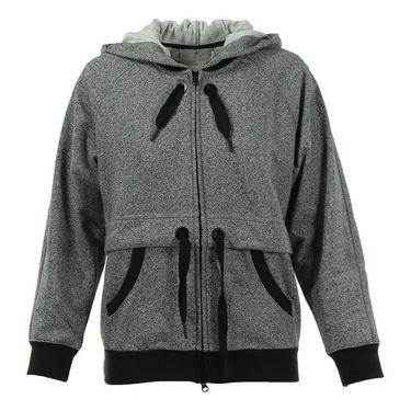 adidas Stella McCartney ClimaLite Full Zip Hoodie - Black/White