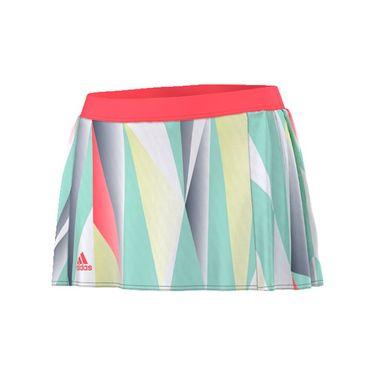adidas Pro Skirt - White/Flash Red/Multi