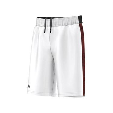adidas Boys Barricade Short - White/Black