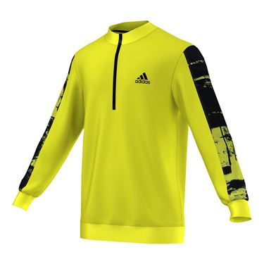 adidas ClimaChill 1/4 Zip - Yellow