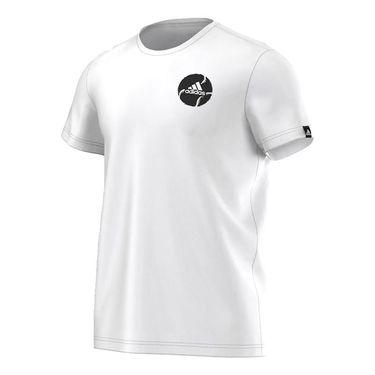 adidas sun tzu Tennis Ball T-Shirt - White