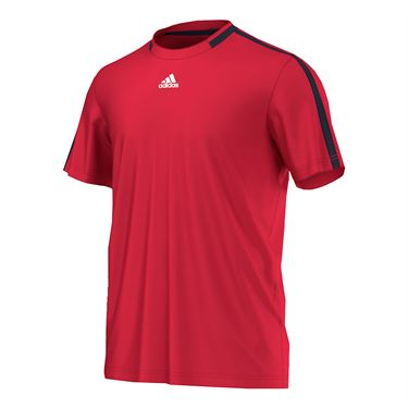 adidas Club Primefit Tee - Ray Red