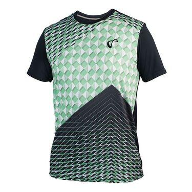 Athletic DNA Boys Match Crew-Pyramid Green