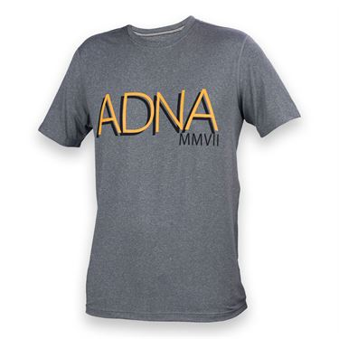 Athletic DNA Boys Training Tee - Heather Grey