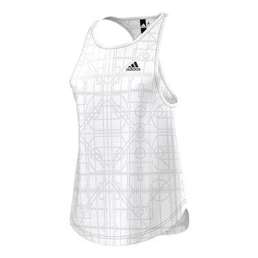 adidas Lightweight Tank - White
