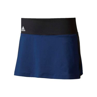 adidas Advantage Skirt - Mystery Blue/Glow Orange