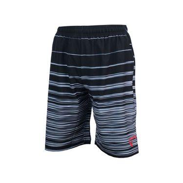 Athletic DNA Boys Woven Short Hombre Stripe-Black